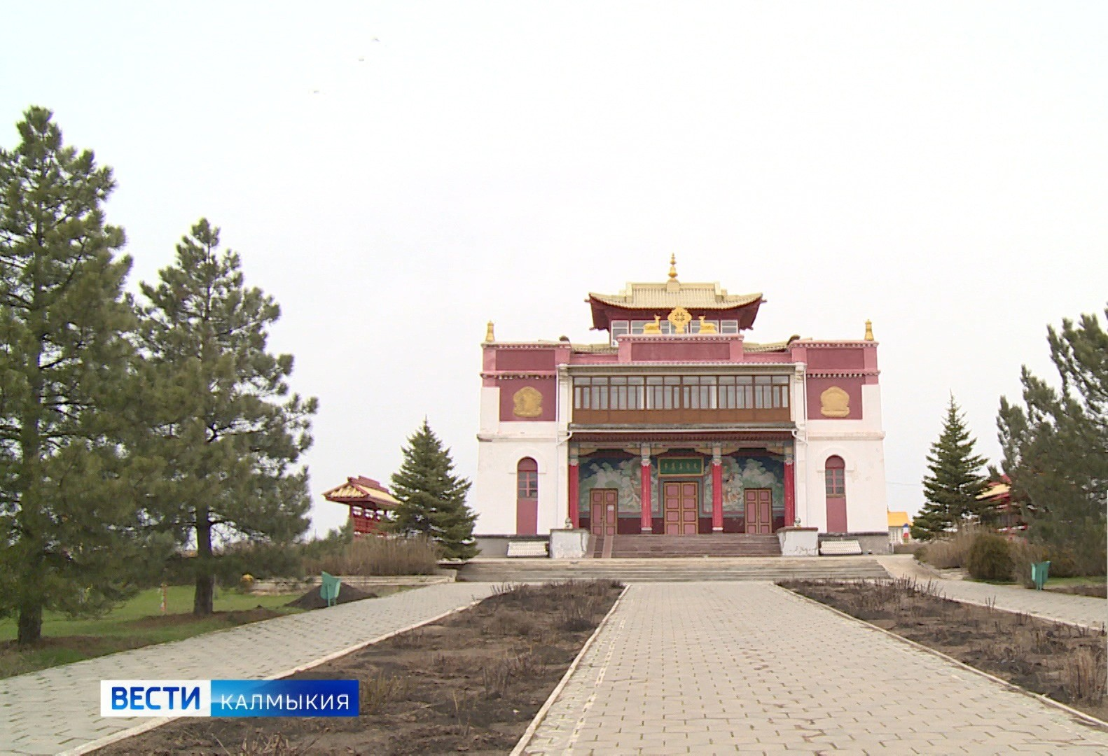 25 лет хурульному комплексу «Сякюсн-сюме»