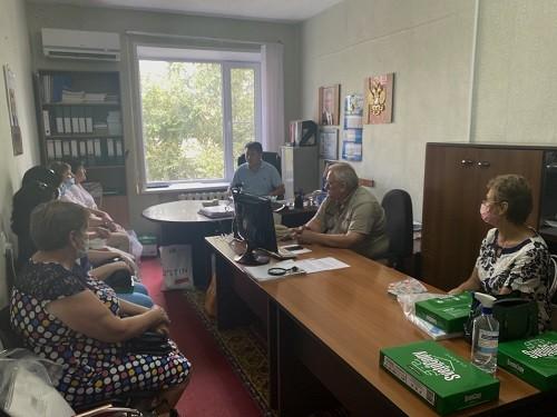 Бембя Чужаев побывал с рабочей поездкой в Городовиковском и Яшалтинском районах