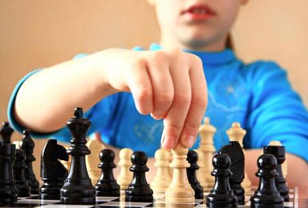 В поселке Найнтахн Целинного района состоялся шахматный турнир среди детей