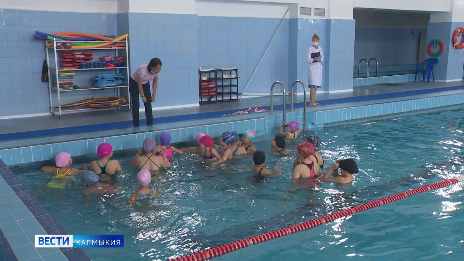 Во Дворце Детского Творчества после ремонта вновь открылся плавательный бассейн