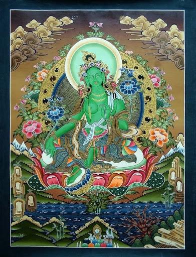 Сегодня в Центральном хуруле проведут особый ритуал обращения к Зеленой Таре