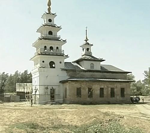 В Хошеутовском хуруле начались реставрационные работы