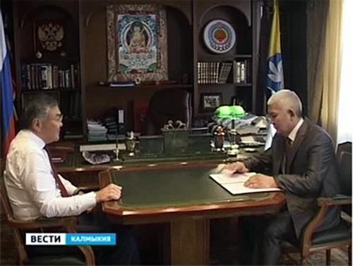 Алексей Орлов и Алексей Надбитов обсудили итоги работы Министерства юстиции Калмыкии