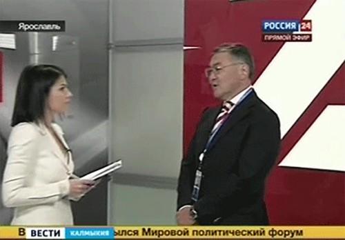 В рамках визита в Ярославль Алексей Орлов провел ряд рабочих встреч