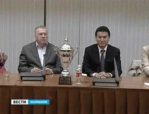 Жириновский: Калмыкия имеет очень удобное географическое положение