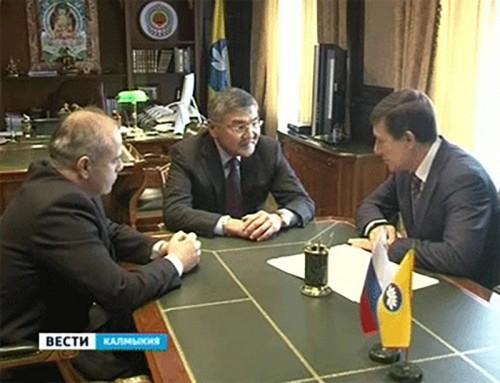 Алексею Орлову представили нового главного федерального инспектора