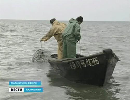 Для калмыцких рыболовов осенняя путина началась неудачно