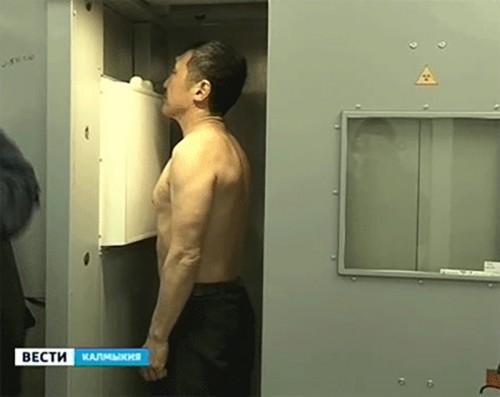 В Калмыкии работает выездной флюорограф