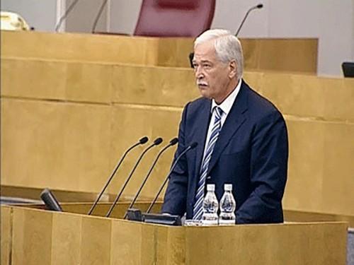 Борис Грызлов решил отказаться от депутатского мандата