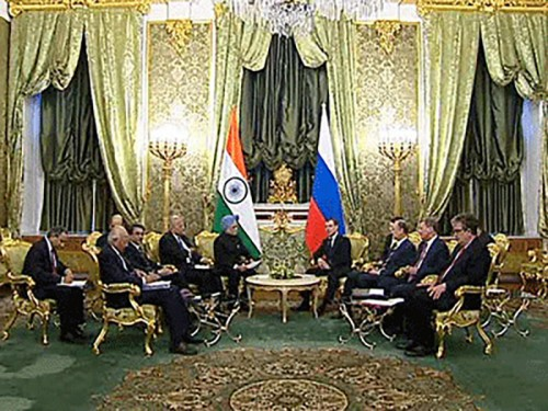 Медведев поставил самую высокую оценку российско-индийским отношениям