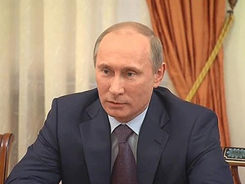 ЦИК зарегистрировал Владимира Путина кандидатом в президенты РФ