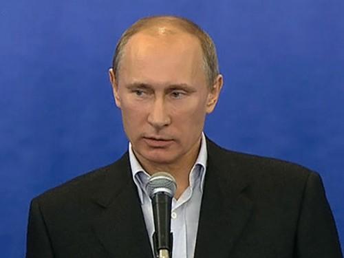 Владимир Путин лично пишет предвыборную программу