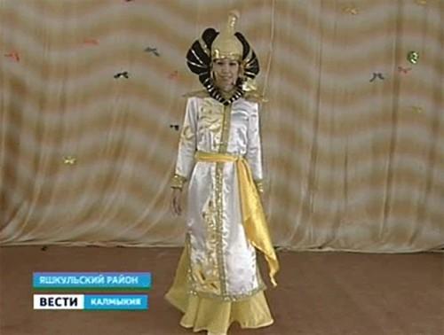 Этнические мотивы на сцене Яшкульского района
