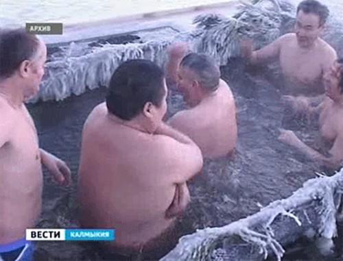 В Калмыкии определены места для купания в Крещенскую ночь
