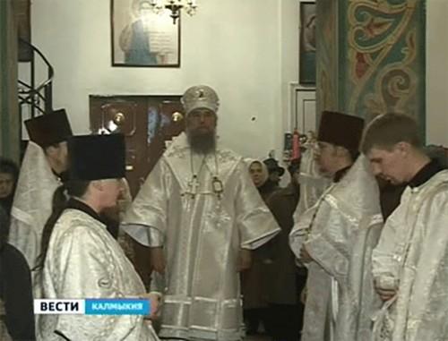 Православные Калмыкии отмечают Крещенский сочельник