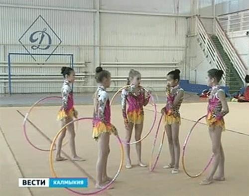 Гимнастки из Калмыкии стали серебряными призерами первенства ЮФО