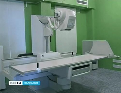 В Республиканский противотуберкулезный диспансер поступило новое медоборудование
