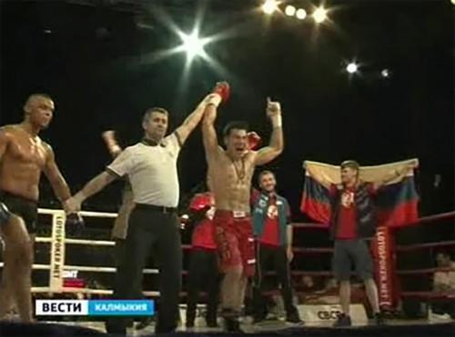 Победа Бату Хасикова в Калмыкии