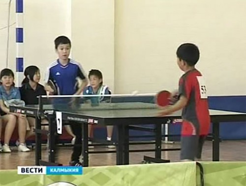 В Элисте открылся детско-юношеский турнир по настольному теннису