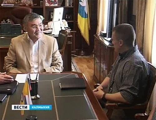Алексей Орлов встретился с представителями журнала «National Geographic»