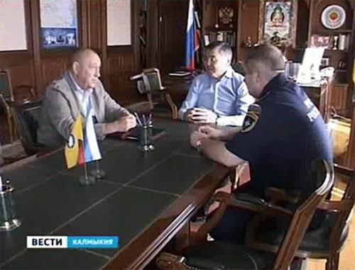 Алексей Орлов и Александр Булгаков обсудили вопросы развития добровольной пожарной охраны