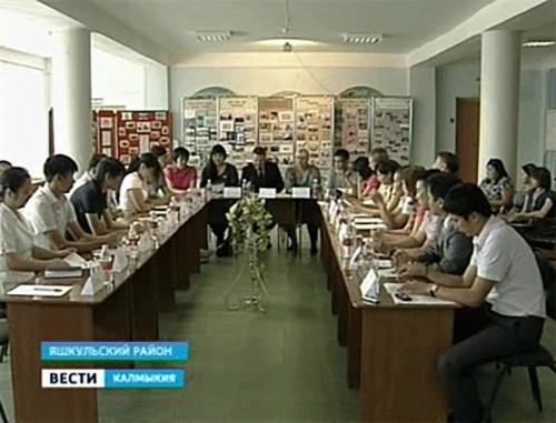 Молодежная палата Калмыкии свое первое выездное заседание провела в Яшкульском районе