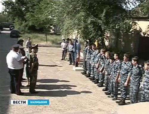 Ряды ДОСААФ пополнились молодыми кадрами