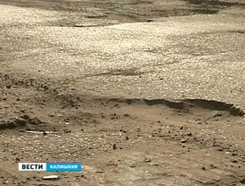 В Калмыкии зафиксирован рост количества ДТП из-за состояния дорожного полотна
