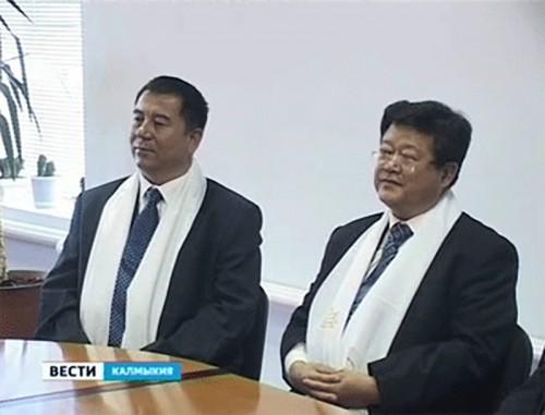 В Калмыкию с рабочим визитом прибыла делегация Синьцзян-Уйгурского автономного округа