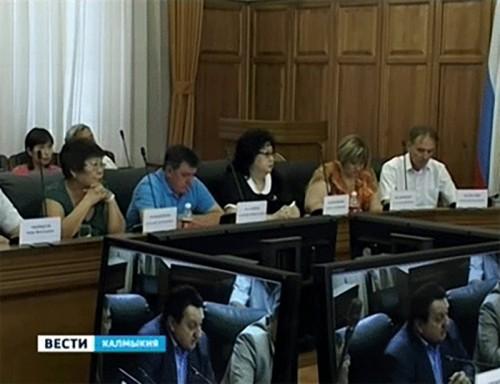 Новый состав избиркома Калмыкии провел первое организационное заседание