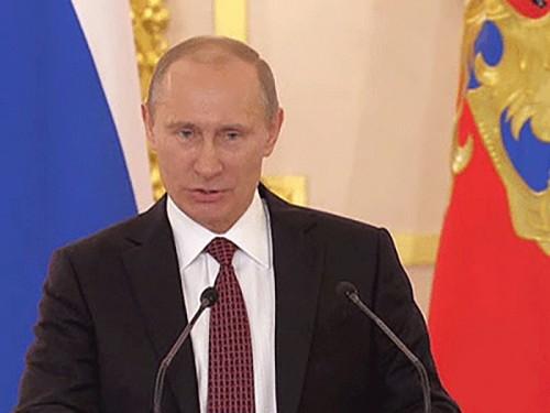 Владимир Путин провел встречу с российскими высшими офицерами