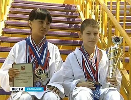 Калмыцкие каратисты стали победителями Чемпионата Европы