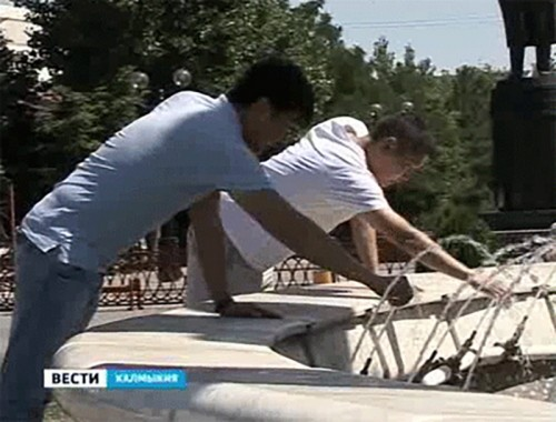 Как жители Калмыкии спасаются от жары?