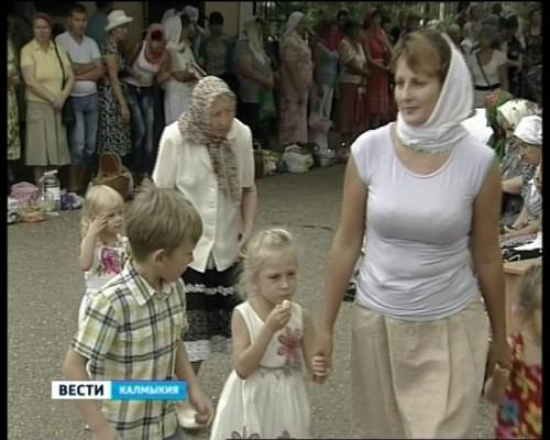 Православная церковь отметила праздник Преображения господня