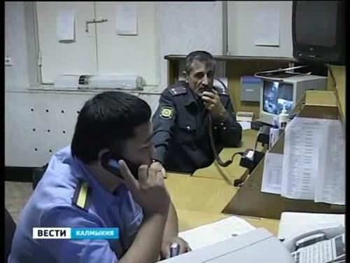 Калмыцкая полиция отмечает профессиональный праздник