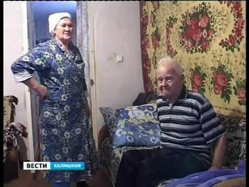 Городские власти Элисты три года не могут отремонтировать жилье ветерану