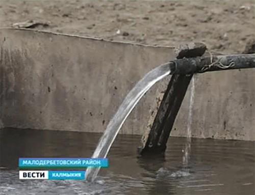 В Малодербетовском районе решена проблема с водой для сельхознужд