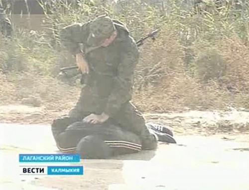Блокпост Лагани освобожден от захватчиков