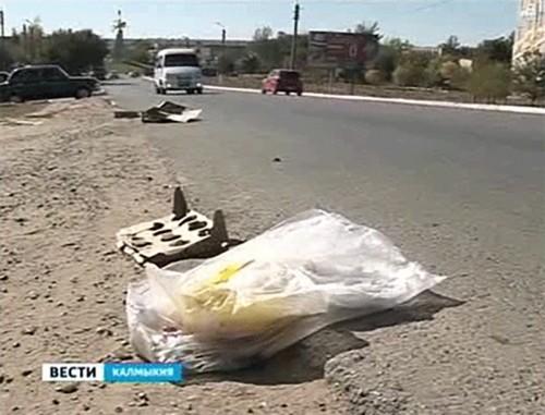 Водителей будут штрафовать за мусор на дороге