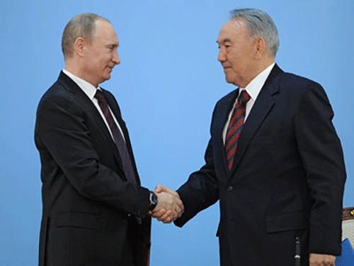 Владимир Путин проведет переговоры с Нурсултаном Назарбаевым