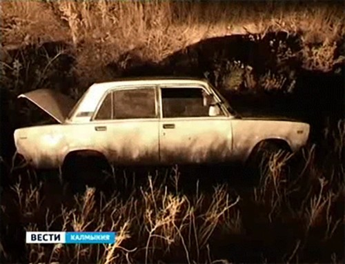 Угнанный автомобиль обнаружен сгоревшим