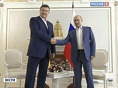 Президенты России и Украины проведут переговоры в Москве