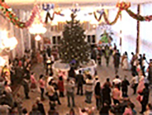 В Элисте проходит новогодняя елка Главы Калмыкии Алексея Орлова