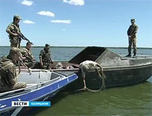Более 20 рыб осетровых пород, добытых браконьерами, изъяли в Лагани