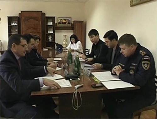 В Элисте подписано соглашение о взаимодействии между МЧС и Уполномоченным по защите прав предпринимателей