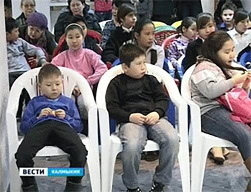 В Элисте состоялся благотворительный концерт для детей