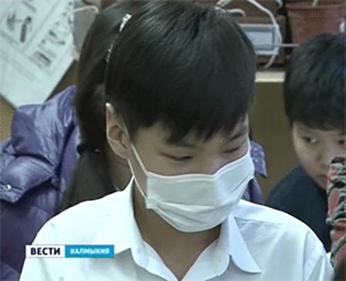 В 18 школах Калмыкии частично приостановлен учебный процесс из-за ОРВИ