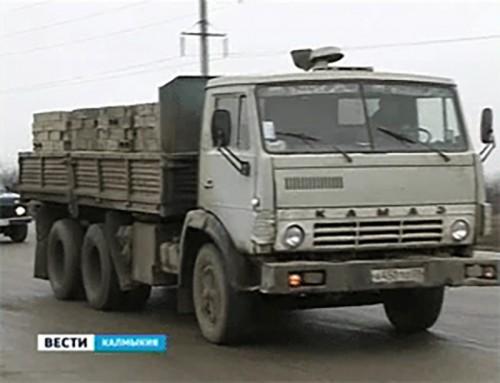 Дороги Калмыкии на месяц закрыты для большегрузных автомобилей