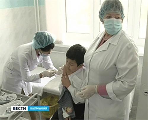 В Калмыкии зарегистрировано 5 случаев заболеваемости гриппом
