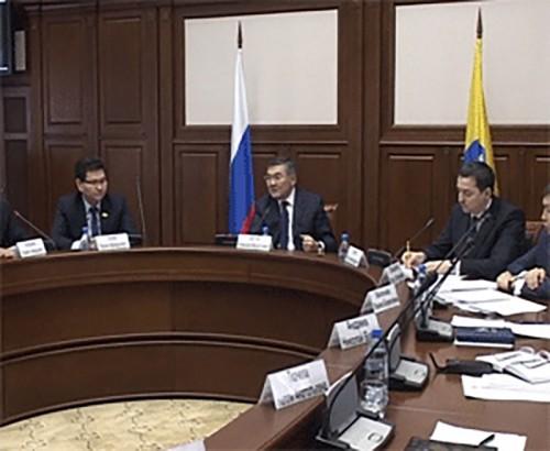 В Элисте состоялось заседание Совета по улучшению инвестиционного климата